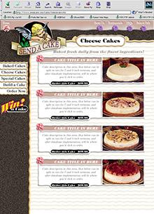 Send-a-Cake Site