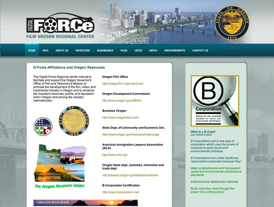 Film Oregon Regional Center