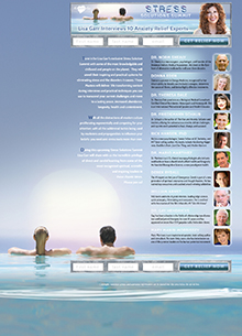 Stress Solutions Summit Landing Page