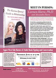 Carmen Queens Book Signing