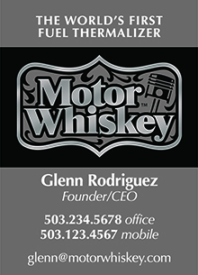 Motor Whiskey Cards