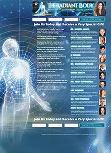 Radiant Body Summit I Landing Page
