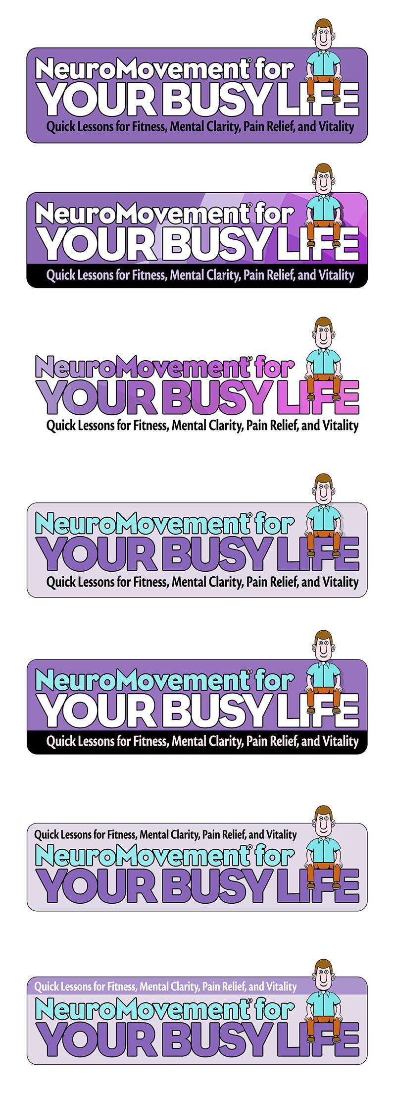 NeuroMovement Desktop Trainer Logo Ideas
