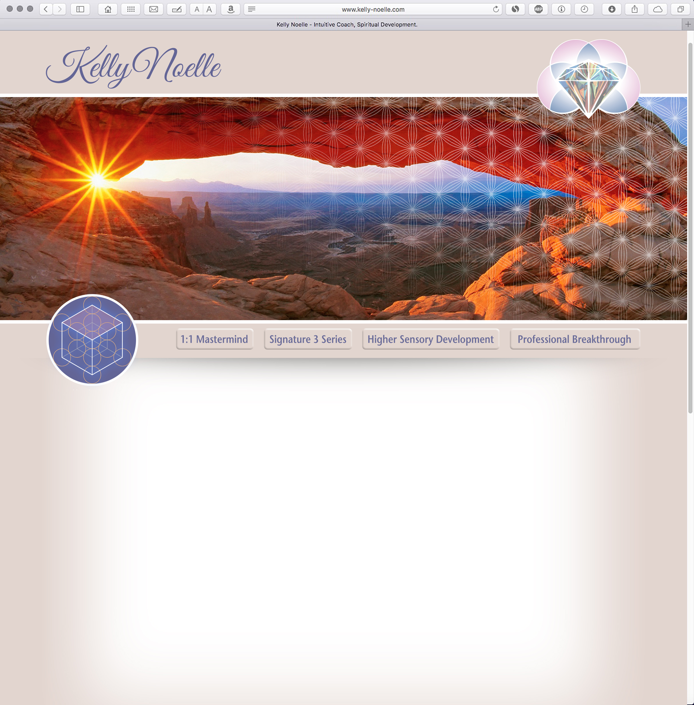 Kelly Noelle Web Site Design