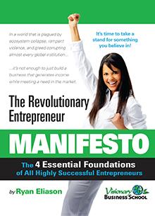 Revolutionary Entrepreneur Manifesto