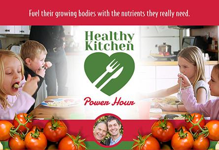 Healthy Kitchen Power Hour Ads