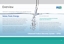 WasteWater Recovery Presentation